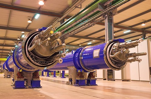 LHC magnets awaiting test