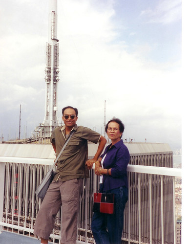 FLB and Mommy 091001 on WTC Tower1