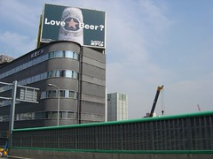DSC00277 (reptile house) Tags: beer japan tokyo sapporo highway billboard tokyu reptilehouse