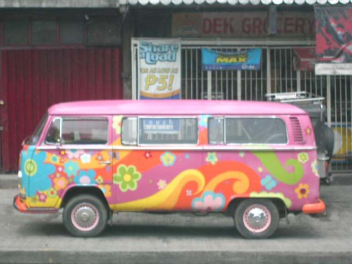 VW Bus gem Tags street city flowers urban bus art colors vw vintage
