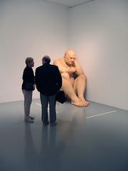 big naked man (iainr) Tags: sculpture man giant naked conversation ronmueck fibreglass bigman topv6666