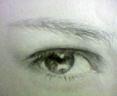 dunno whose, just draw anyway. (|_in|\|ek{ }) Tags: eyes windowstosoul sketch pencil draw doodle eye