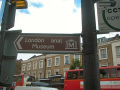 London Canal Museum sign vandalised 090606
