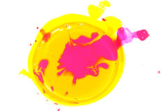CoLoR.. (A.A.A) Tags: pink color colour art colors photography mix paint colours aaa yello amna irresistible althani amnaaalthani