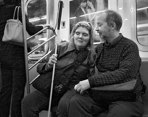 Blind couple