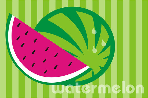 Watermelon is delicious... hmmm by Andréia.