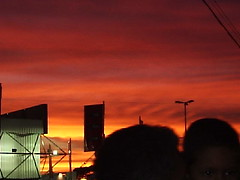 Yesterday (marlenells) Tags: sunset red sky 15fav freeassociation topc25 topv111