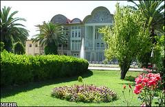 Ghavam's Garden Palace - City of Shiraz (iRAN Project) Tags: iran iranian iranians persia persians persian shiraz city urban park garden building architecture design landscape flower flowers tree trees