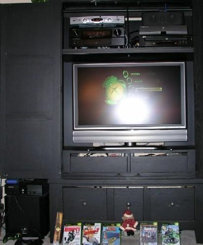 Xbox in Family Room