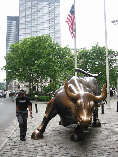 Famous Bull in N.Y.