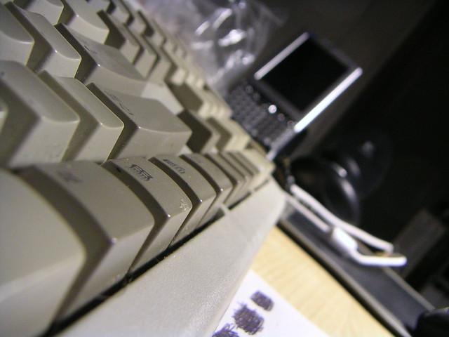 Artsy Keyboard (due to beer)