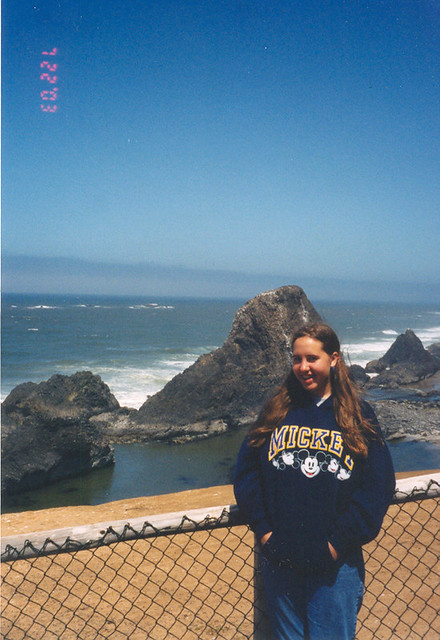 Natalie at Seal Rock