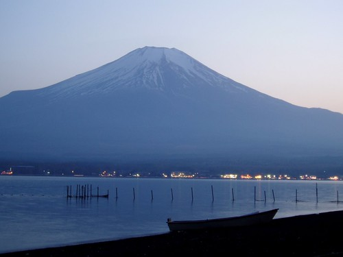 Sunset - Mt. Fuji, Japan