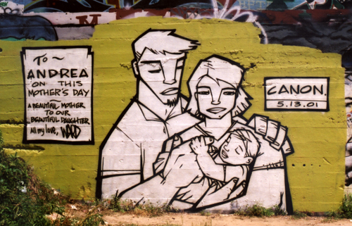 Mother's Day graffiti: Final