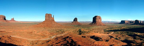 Monument Valley from visitor ctr 4flickr