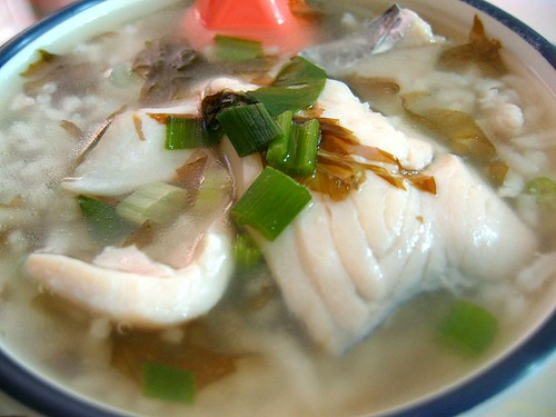Teochew Fish-Slice Rice Porridge