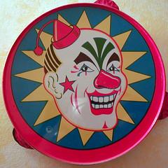 Clown Tambourine
