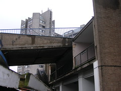 Angles (cyberinsekt) Tags: coventry ugly market concrete railings