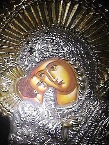 romanian madonna icon