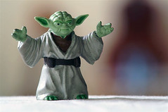 Jedi Master Yoda (barron) Tags: yoda starwars toy