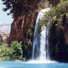 I hiked the Havasupai Trail in the summer of 1987 - by Vicki & Chuck Rogers