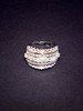silver ring wedding photo
