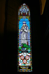 Mother Teresa (Splinter) Tags: braidwood nsw country australia historic teresa stained glass church