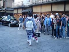 Geisha (Silly Jilly) Tags: kyoto japan