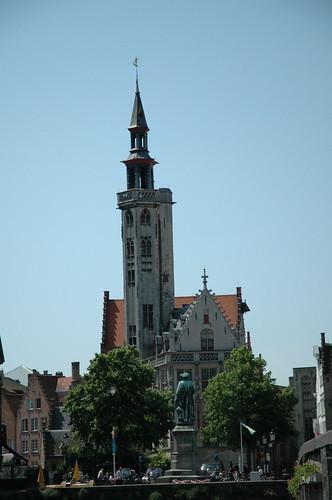 Slender tower