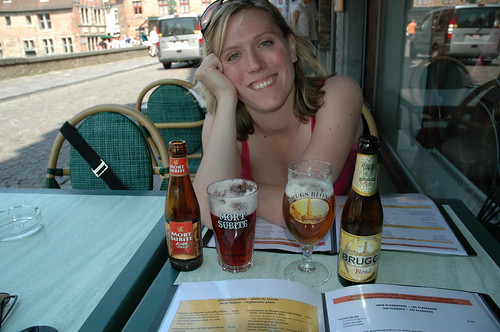 Brugge - I'm drinking beer!