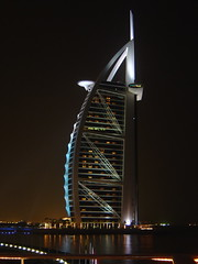 Yep! Made in Dubai (!efatima) Tags: topf25 dubai topc50 uae landmark east burjalarab archives efatima middle iconic burj