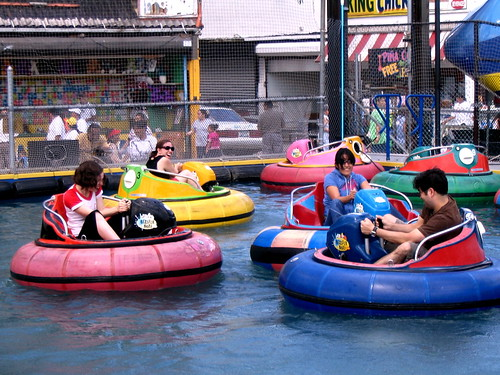 The Bumper Boats were on the Bowery at Stillwell until Joe Sitt evicted them in 2007. Photo by the hanner via flickr