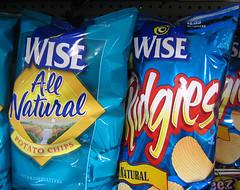Wise potato chips (Rusty Blazenhoff) Tags: capecod stopnshop foods grocery grocer wise potatochips
