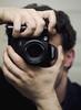 The only self-portrait that matters (Ryan Brenizer) Tags: 2005 camera portrait selfportrait me june mirror hands fuji ofme finepixs2pro noflash equipment livejournal huge 50mmf18d friggin carpeicthus flickr:user=carpeicthus