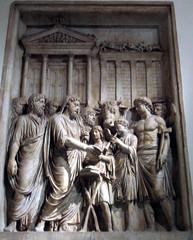 marcus aurelius relief (antmoose) Tags: rome june 2005 museicapitolini marcusaurelius relief antmoose