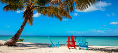 A morning in La Romana (The Sergeant AGS (A city guy)) Tags: laromana rdominicana seashore seascape sea beachchairs beach beachscape walking waterways coconuttree exploration outdoors tourism