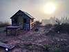 Cabin in the mist (Ignacio Arráez) Tags: smartphone nexus nexus6p old mist cabin cabaña caseta