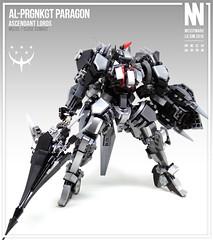 AL-PRGNKGT Paragon (Messymaru) Tags: lego moc mech mecha robot    mechwars reframe original messymaru