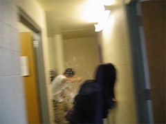 waterfight001 (twobrain) Tags: indoor wate fight balloons guns wet wild crazy