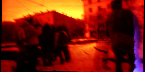 first film with the pinhole camera