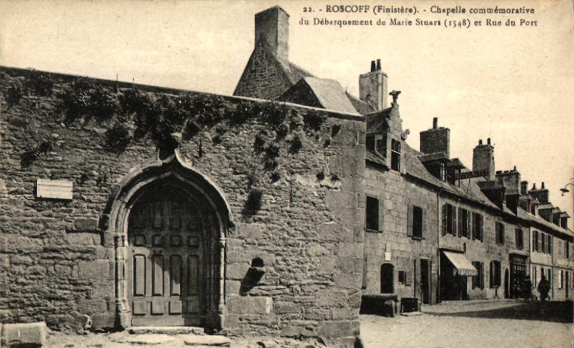 Roscoff - Chapelle St Ninien
