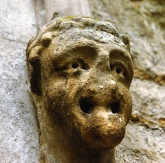 Well weathered (Peter you've lost the news) Tags: gargoyle face stone mouth disfigured history building architecture