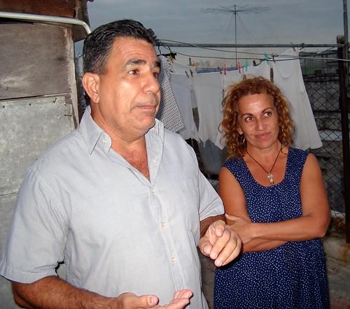 Julio Cesar Galvez och Beatriz del Carmen Pedroso.