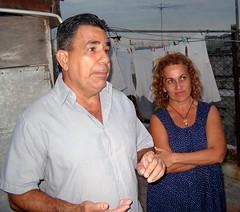 Julio Cesar och Beatriz del Carmen Pedroso