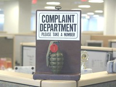 complaint department - please take a number (g...