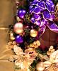 purple and gold (raspberrytart) Tags: christmas winter canon gold purple lovely1 ornament powershota70