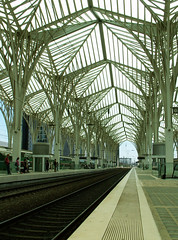 "Lisboa - Train station ""Oriente"" (jaime.silva) Tags: portugal arquitetura architecture arquitectura lisboa lisbon trains calatrava architektur lissabon architettura santiagocalatrava architectuur lisbonne lisbona arkitektur mimari lisabon lizbona arkkitehtuuri architektura contemporaryarchitecture  portugalia portuglia arhitektura bouwkunde bouwstijl arhitectura lizbon arkitektr lisabona architektra lisszabon architektra baustil portugalsko ptszet arhitektuur  modernarchitecure   portugalija arhitektra lissabonin architektonik lizbonska   lissaboni lisabonas lisabonos"