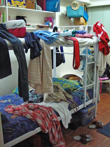 Bunk Bed Clothes Rack