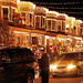 Christmas Street in Baltimore, Maryland USA