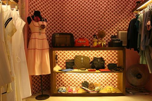Pink Dress Vintage Room